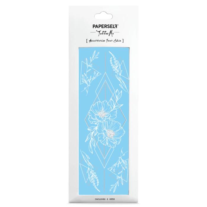 PAPERSELF|幾何花1 Geometric Flowers 1(金)