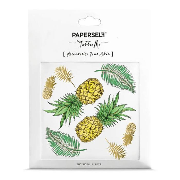 PAPERSELF|鳳梨PINEAPPLE(金)