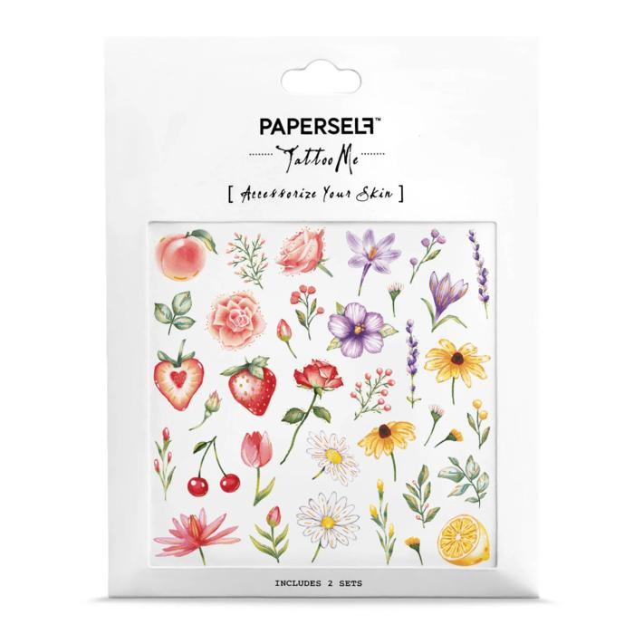 PAPERSELF|夏之花flowers & fruits(金)