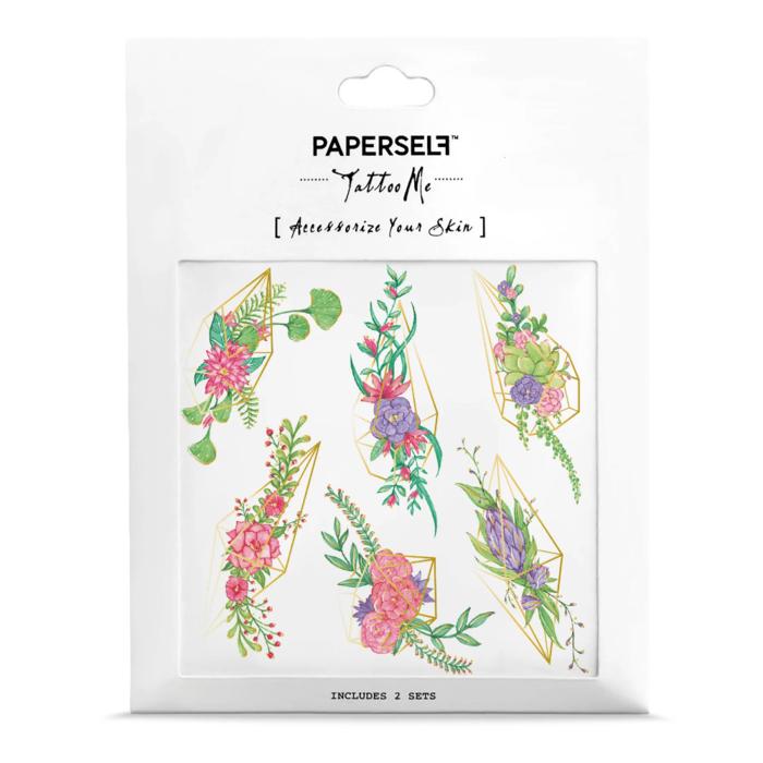 PAPERSELF|花溫室 Terrarium(金)