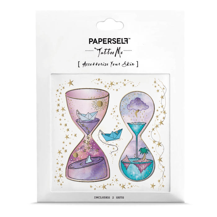 PAPERSELF|沙織丘 Hourglass Front(金)