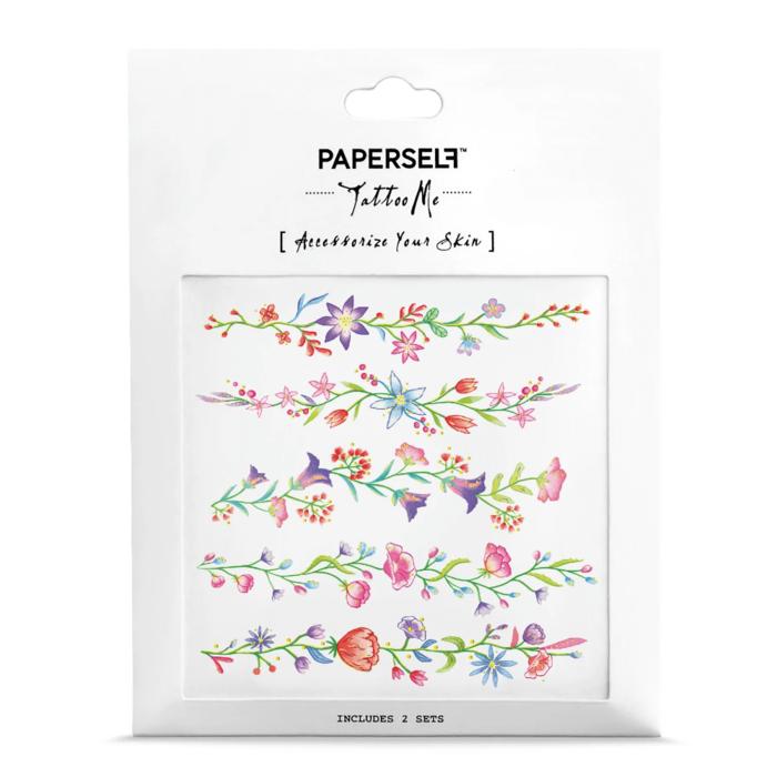 PAPERSELF|花語手環Flower Chain(金)
