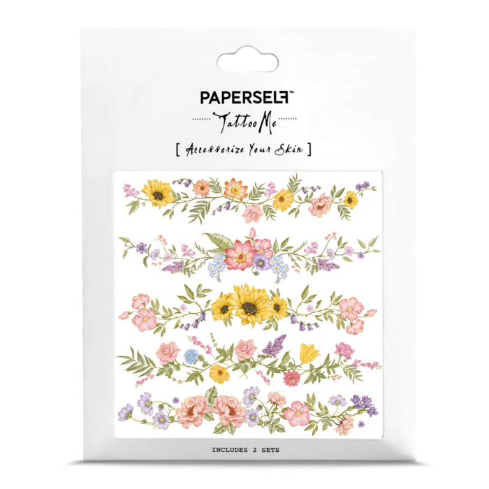 PAPERSELF 花語手環2 Flower Chain2(金)