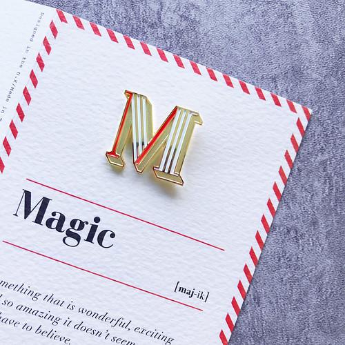 PAPERSELF 琺瑯徽章卡 - M / Magic