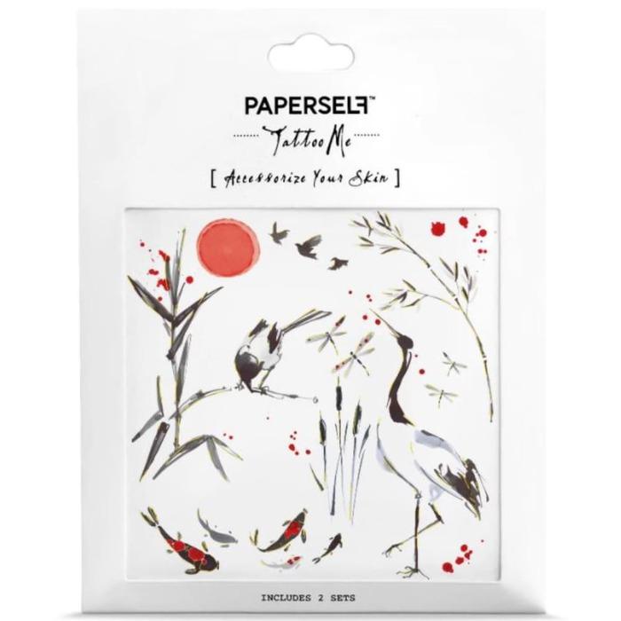 PAPERSELF|松鶴的一曲小調Crane(金)