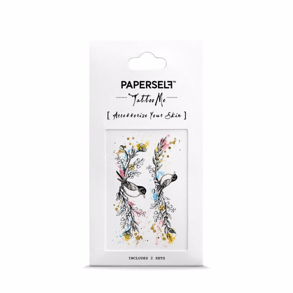 PAPERSELF|愛情鳥(小) Mini Love Birds(金)