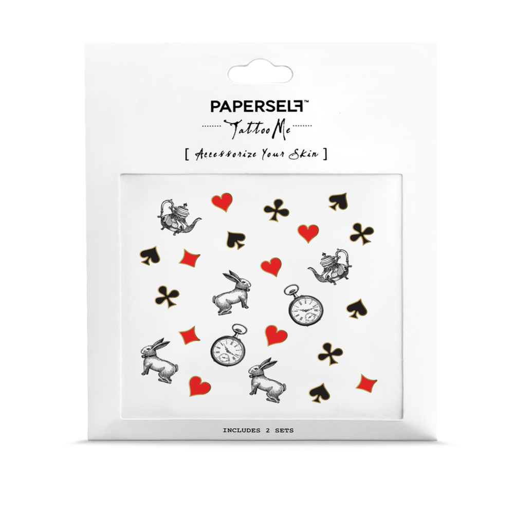 PAPERSELF|愛莉絲夢遊 Wonderland(金)