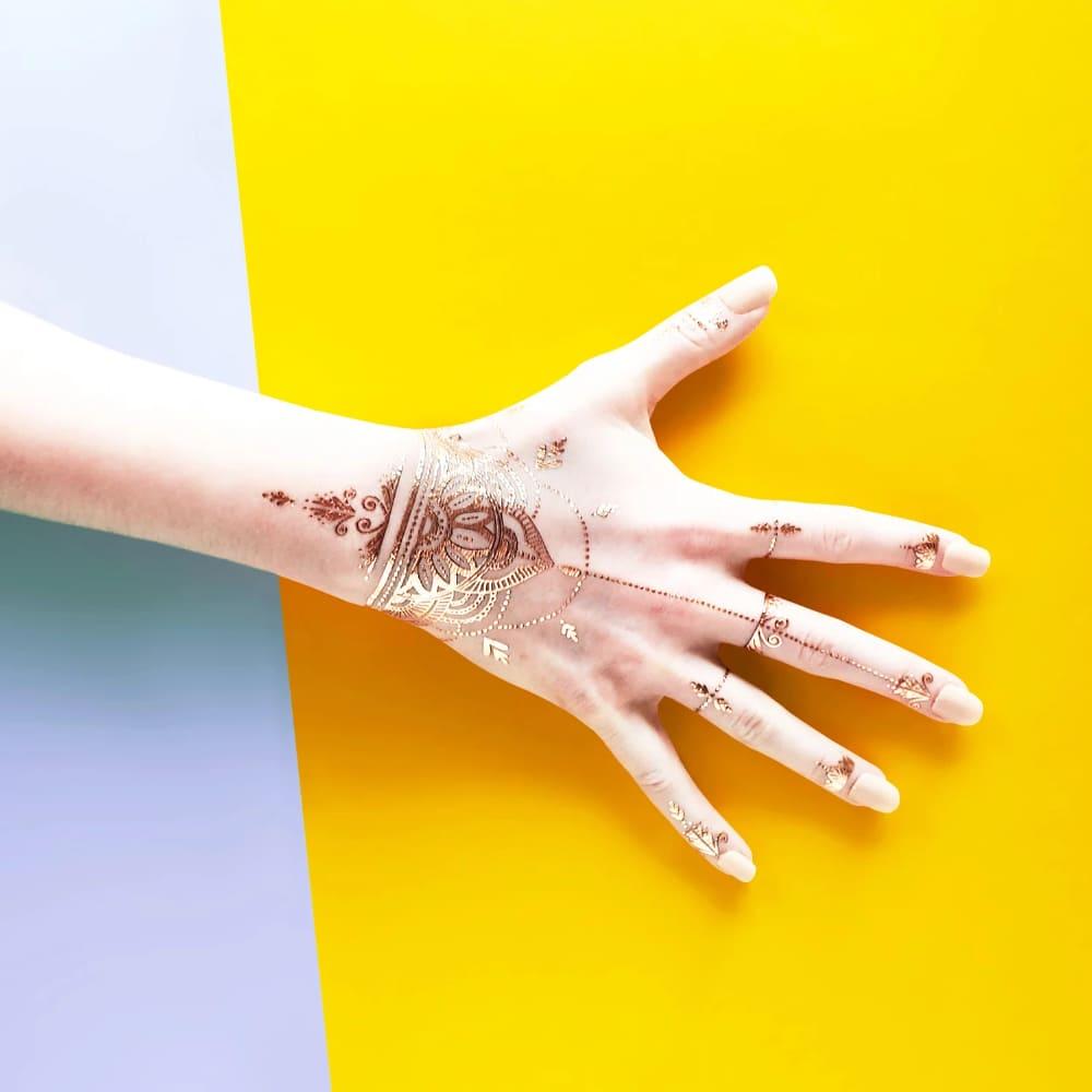 PAPERSELF 印度漢娜彩繪 Henna Gold(金)