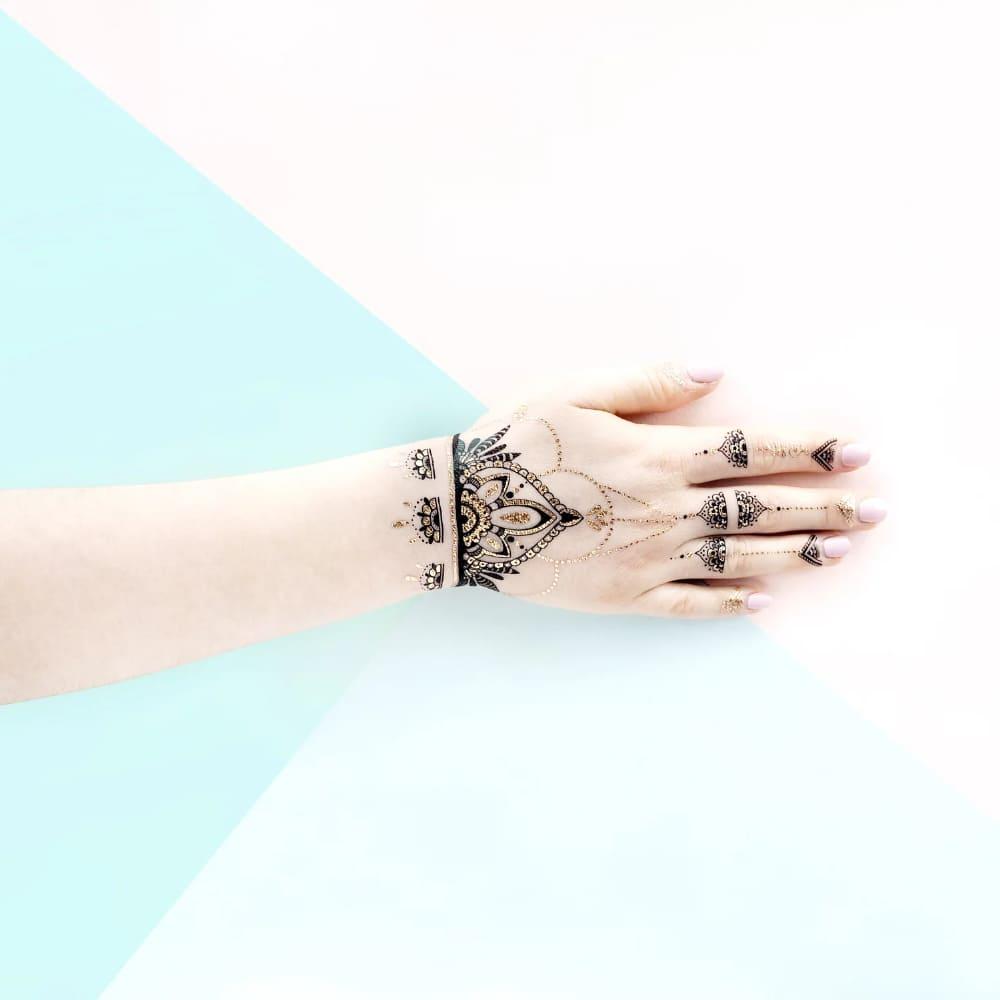 PAPERSELF|印度漢娜彩繪 Henna Black(金)