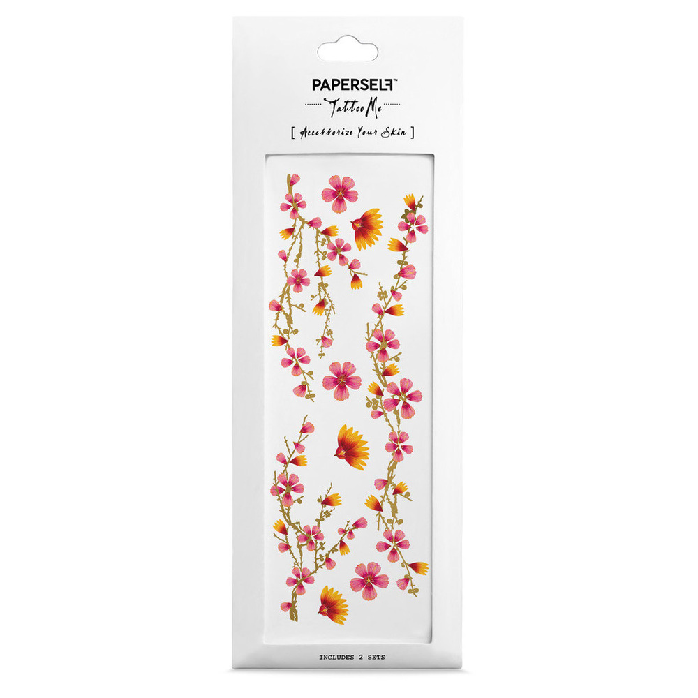 PAPERSELF 櫻花 Pink Blossoms(金)