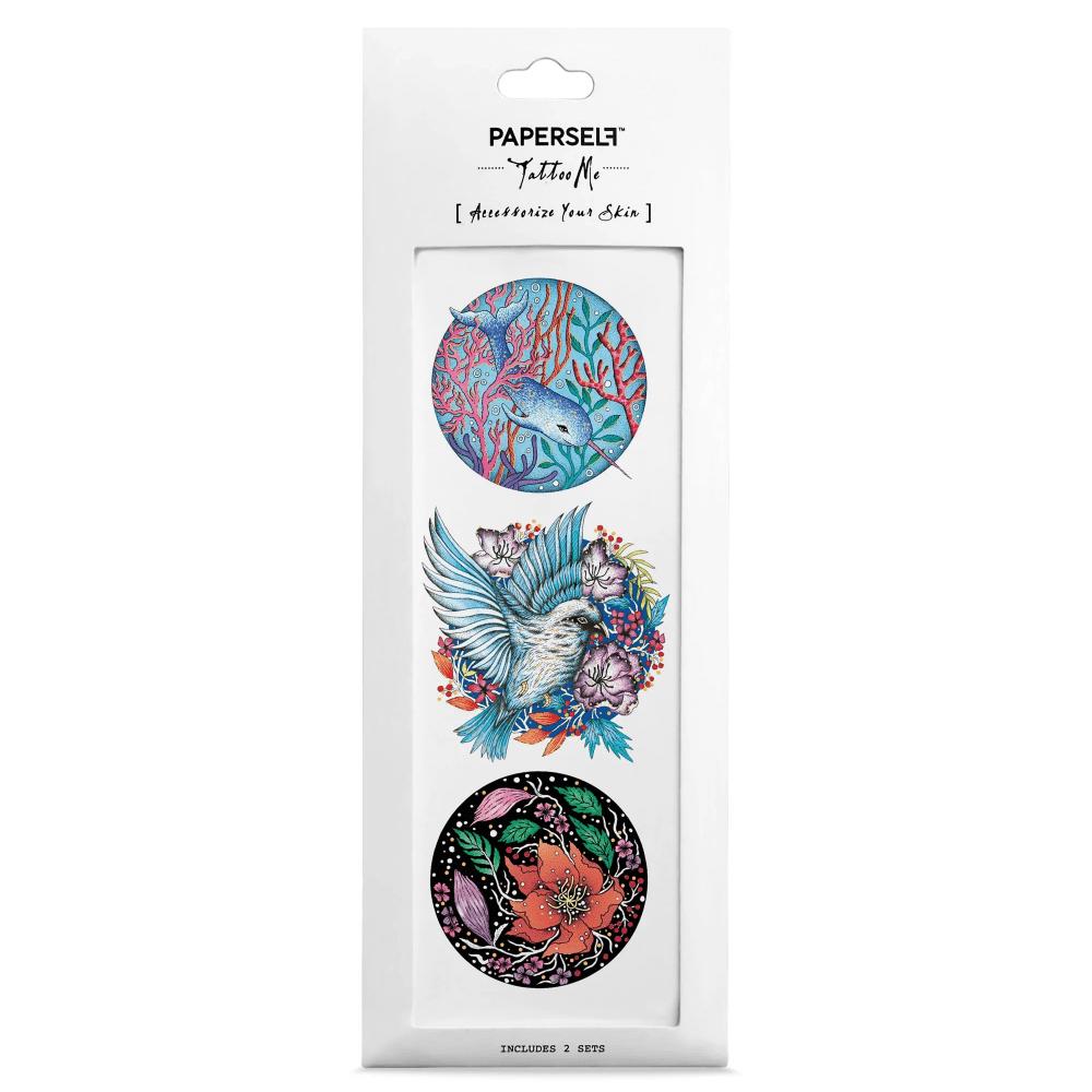PAPERSELF|宇墨花葵Circles(金)