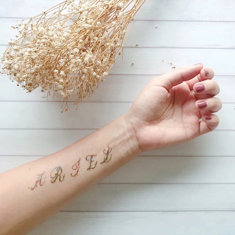 PAPERSELF|字母花 Floral Alphabet(金)