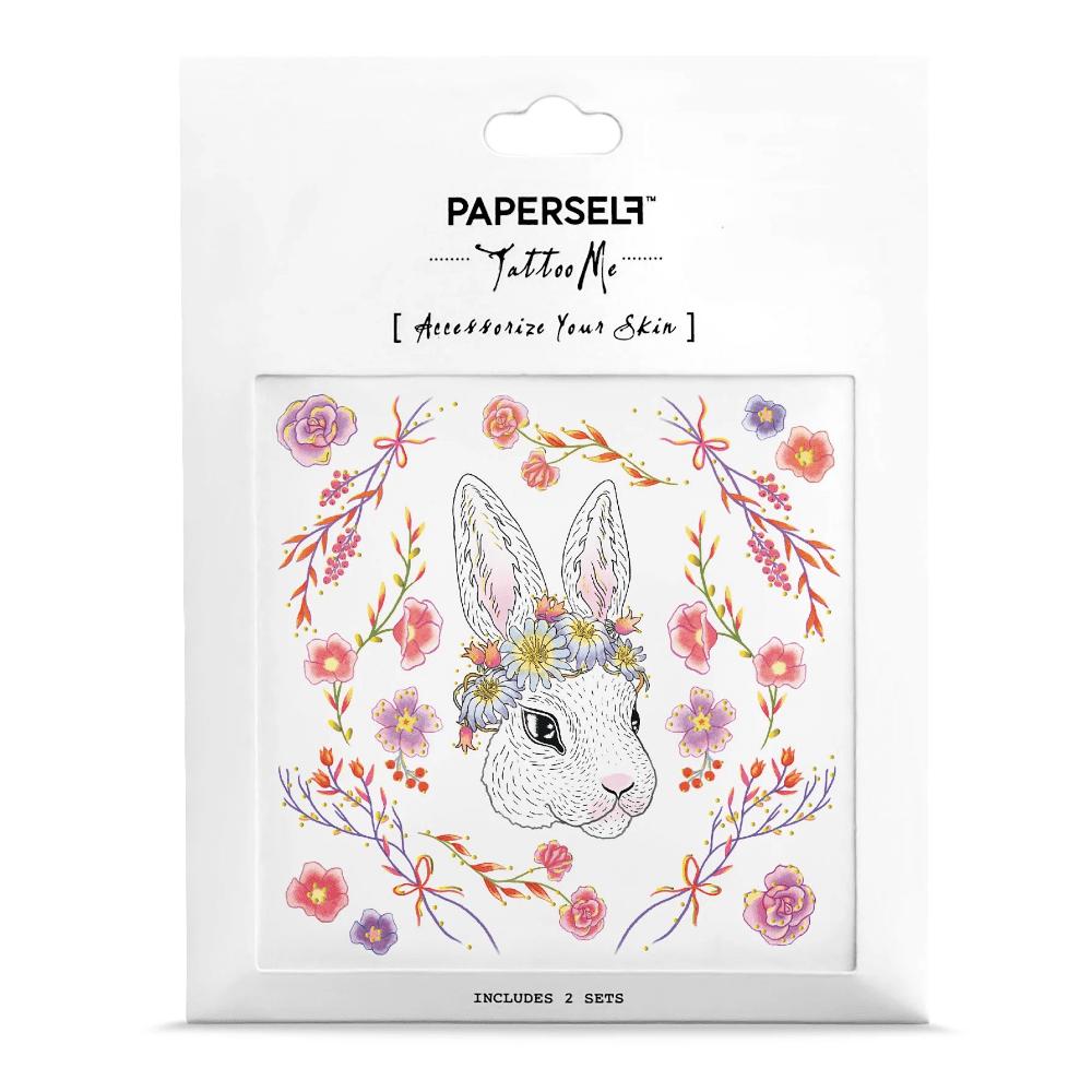 PAPERSELF 迷幻森林兔Rabbit in the Garden(金)