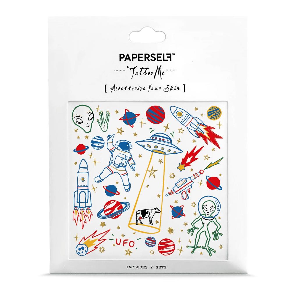 PAPERSELF|外星人 UFO(金)