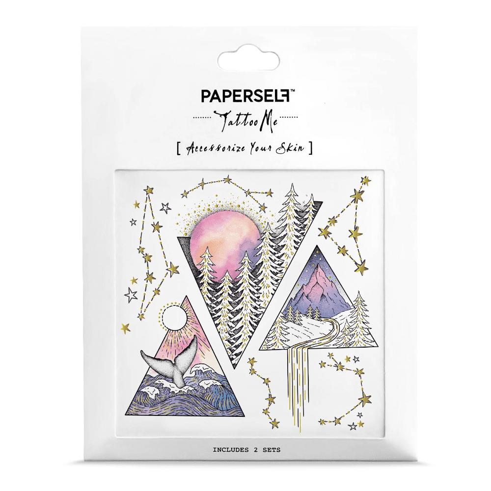 PAPERSELF|星月森林 Triangles(金)