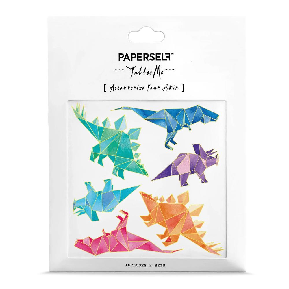PAPERSELF|幾何恐龍Geo Dino(金)
