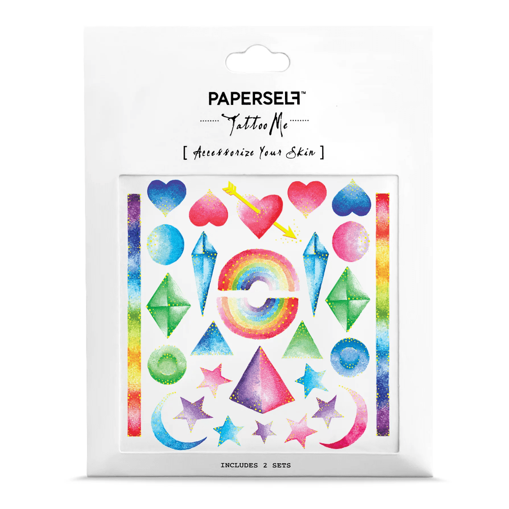 PAPERSELF|彩虹寶石 Rainbows(金)