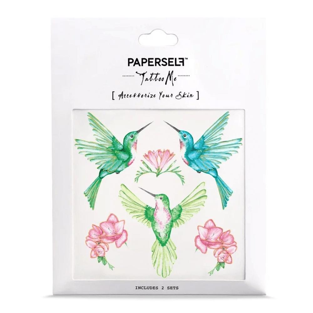 PAPERSELF|輕靈蜂鳥 HUMMINGBIRD(金)