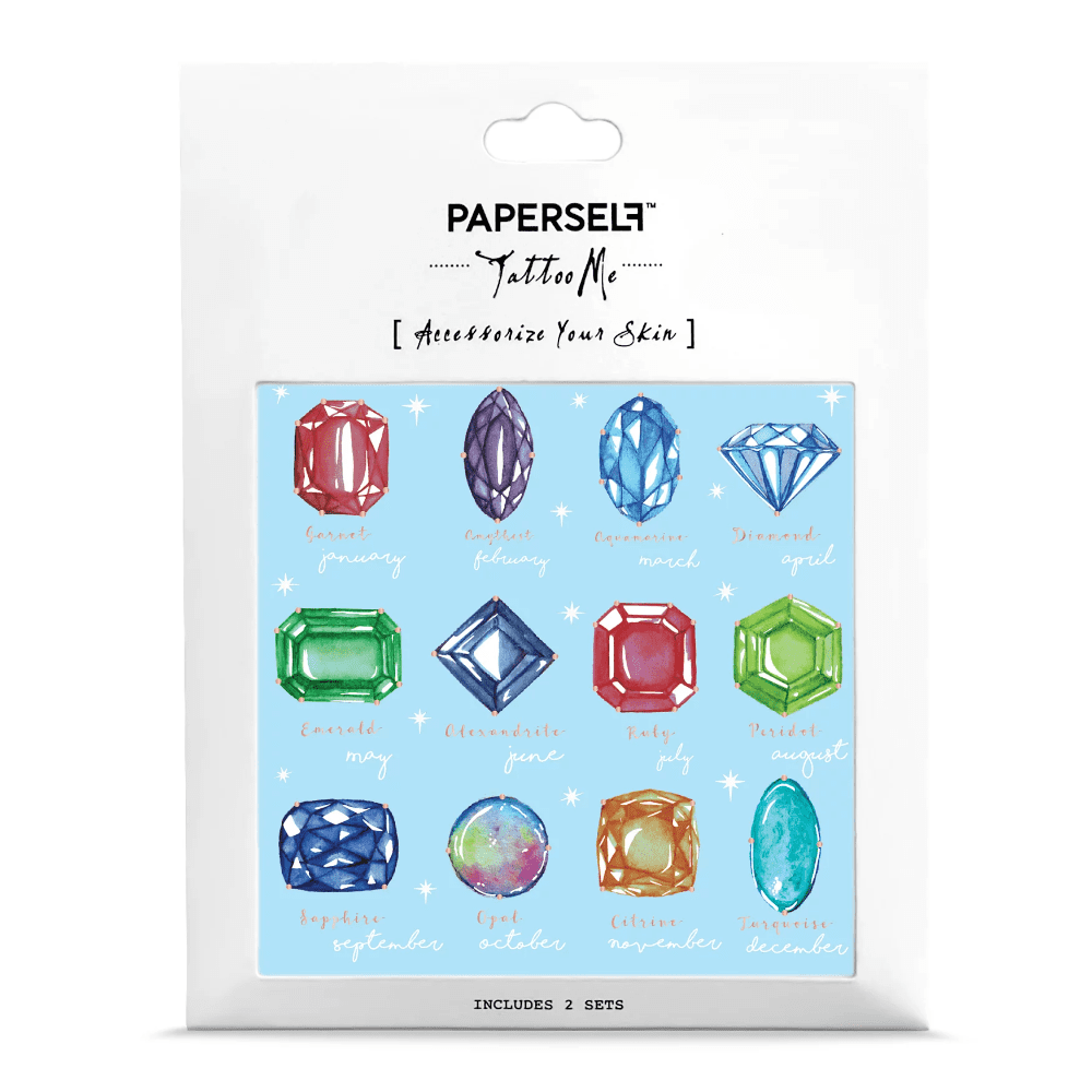 PAPERSELF|誕生石 Birthstone(金)