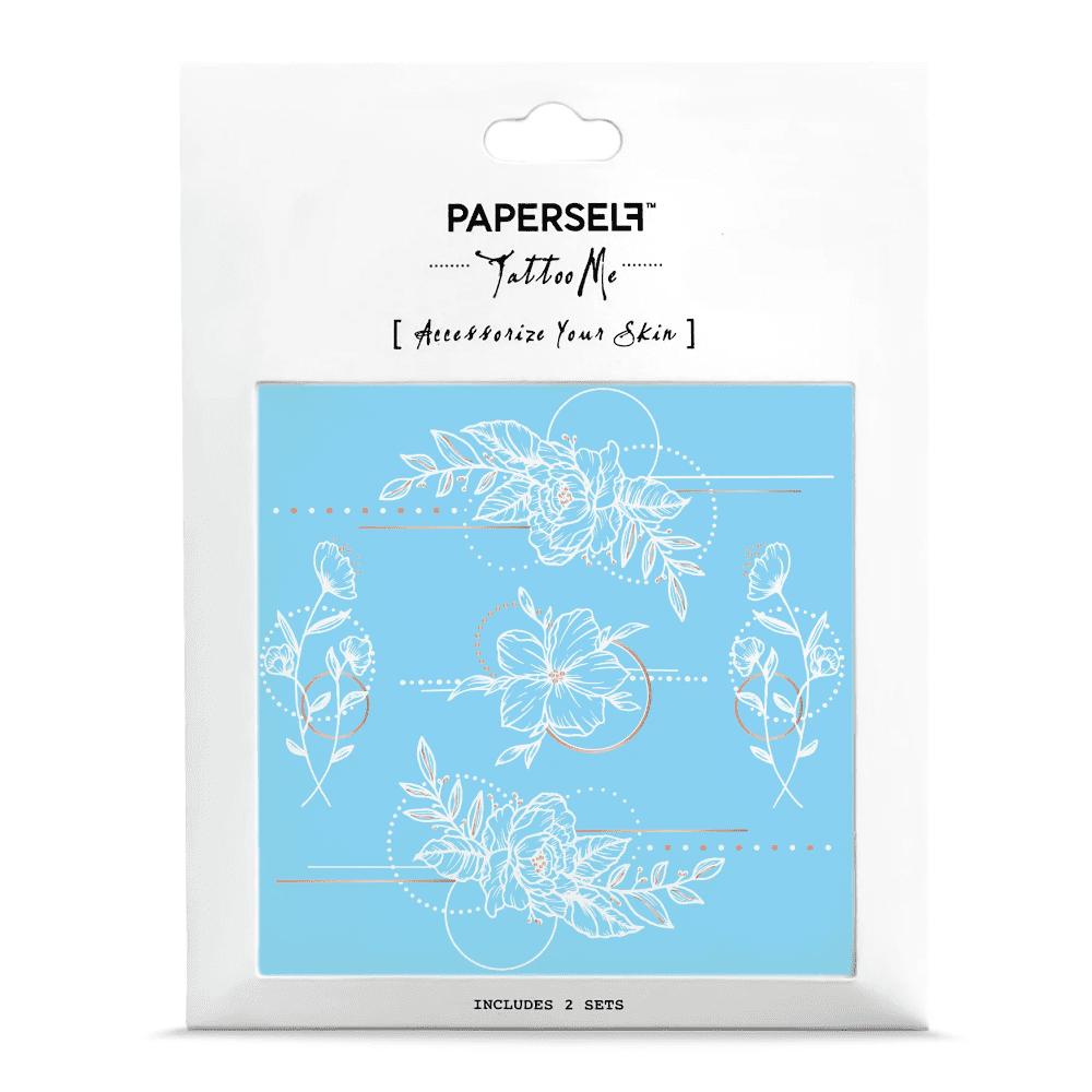 PAPERSELF 幾何花2 Geometric Flowers 2(金)
