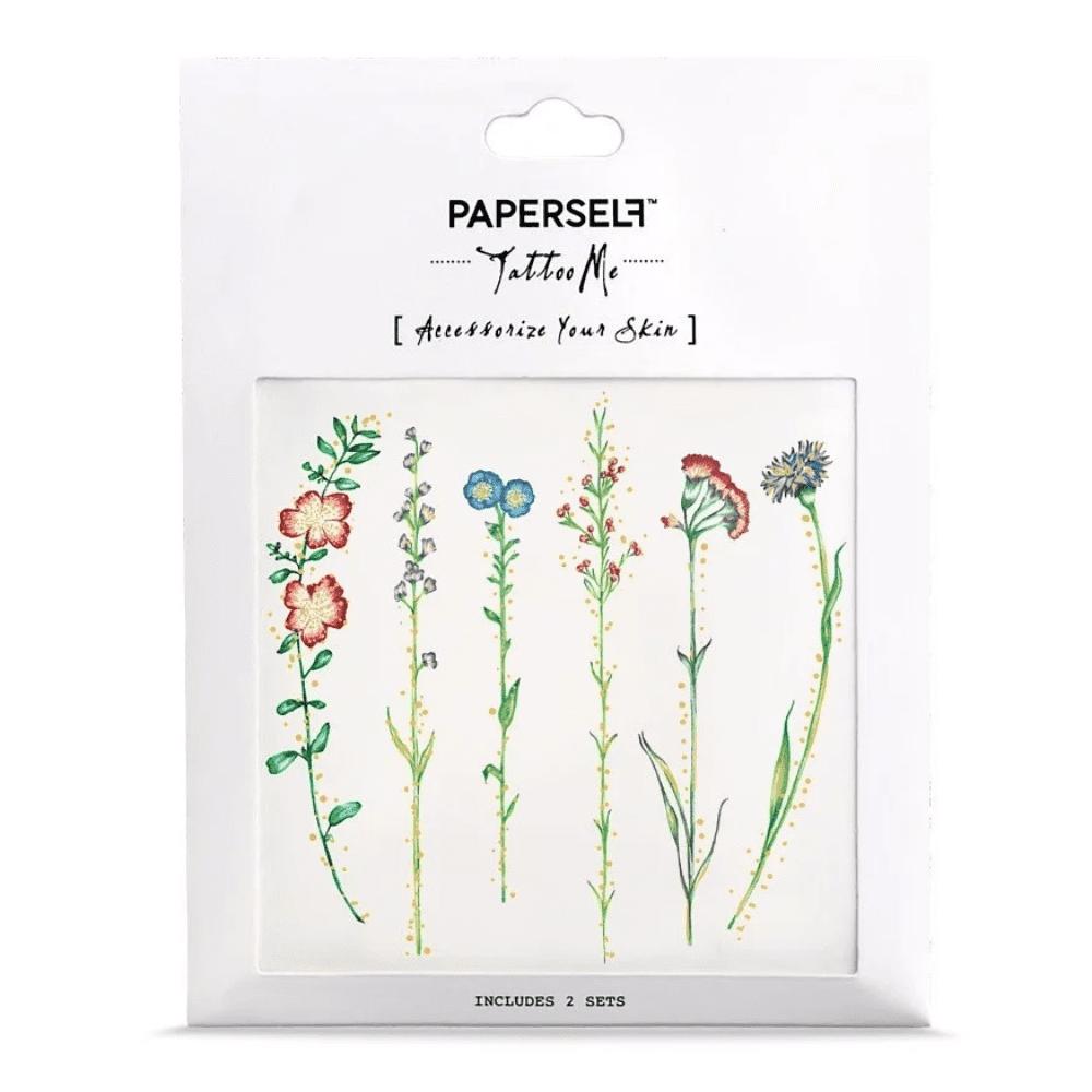 PAPERSELF 古著花 VINTAGE FLOWER(金)