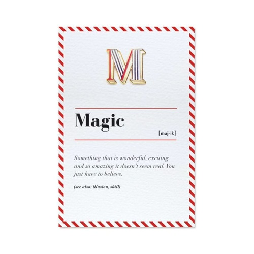 PAPERSELF|琺瑯徽章卡 - M / Magic