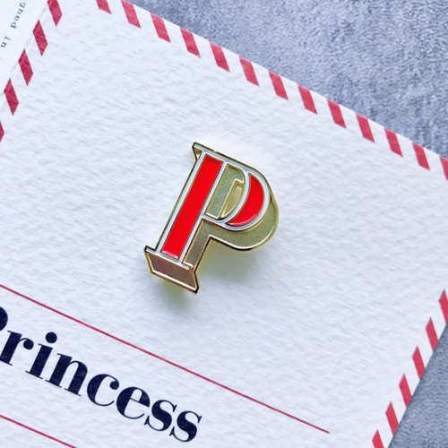 PAPERSELF|琺瑯徽章卡 - P / Princess