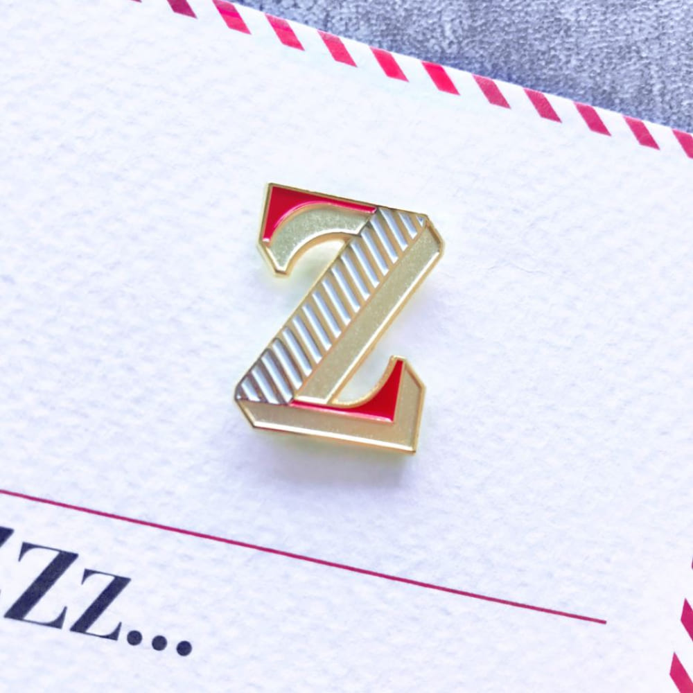 PAPERSELF|琺瑯徽章卡 - Z / Zzz...