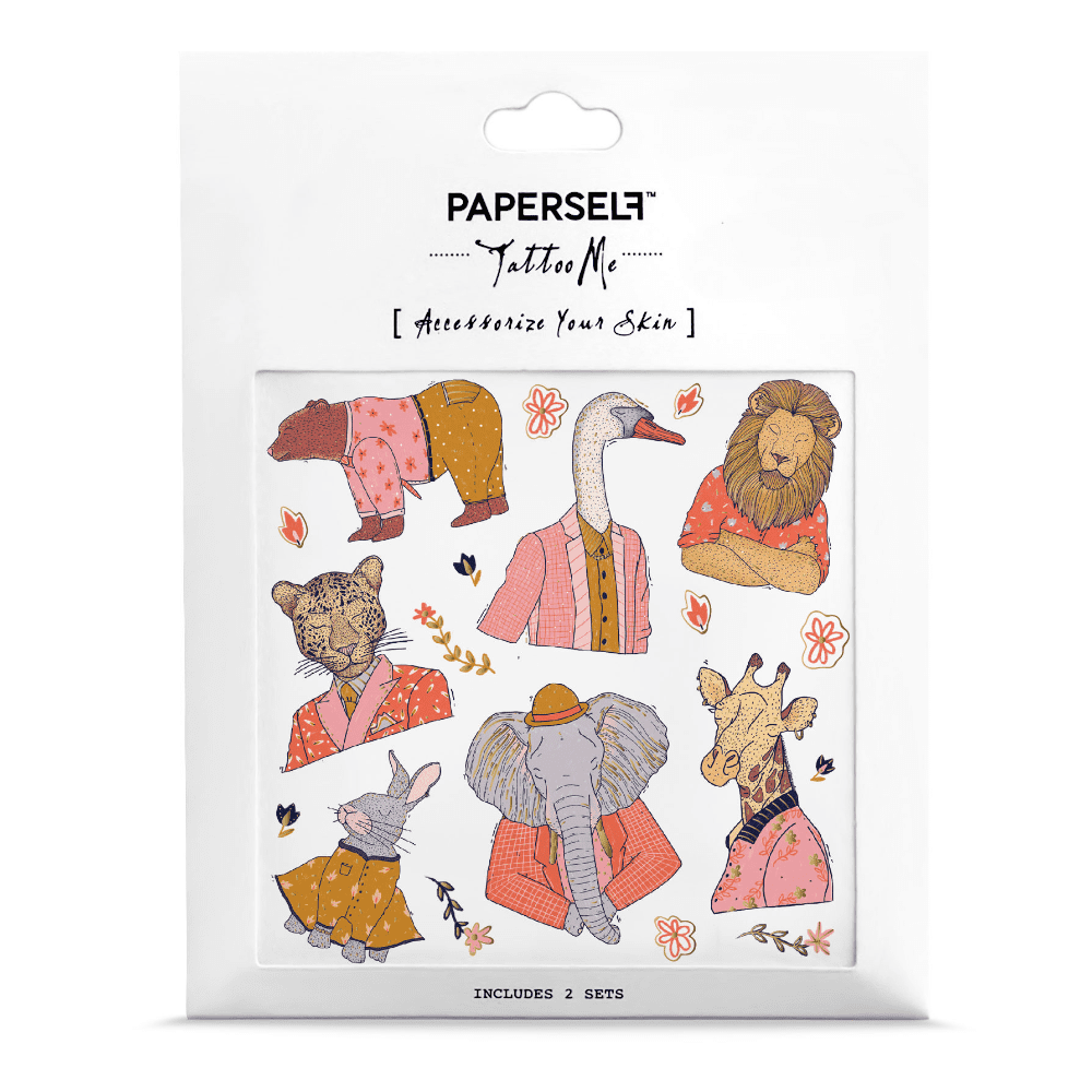 PAPERSELF 動物方程式 Suited and Booted(金)