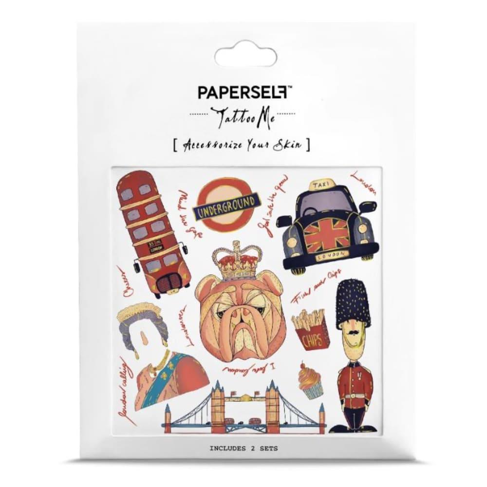 PAPERSELF 倫敦漫遊London(金)