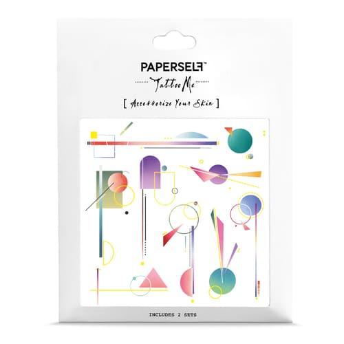 PAPERSELF 不對稱幾何Mobile (金)