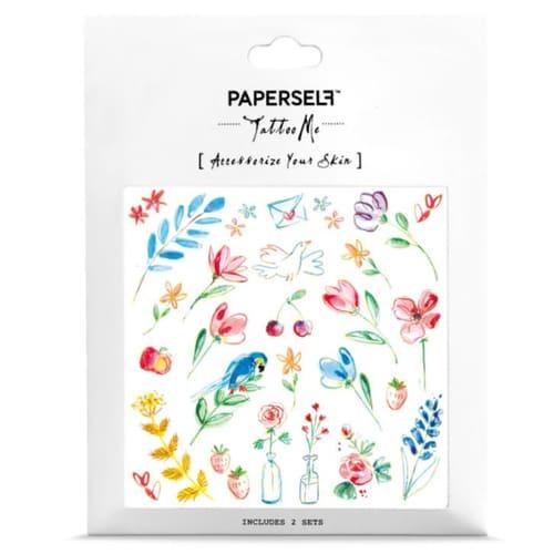 PAPERSELF|法式鄉村小徑Doodle (金)