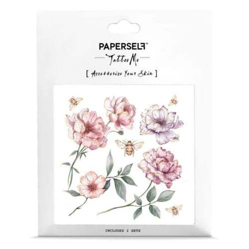 PAPERSELF|莫蘭緹花Bee's garden (金)