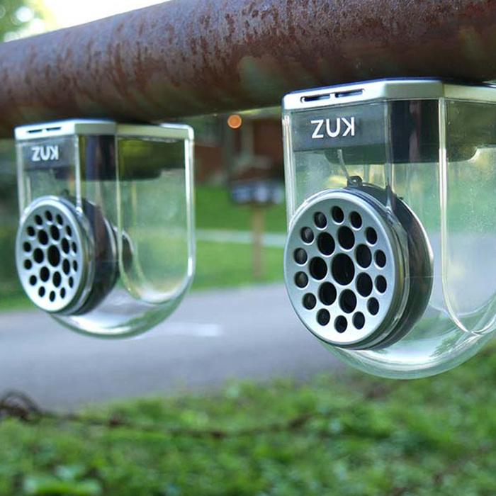 KNZ|GoDuo無線磁吸音響 - 透明主體(黑色矽膠套)
