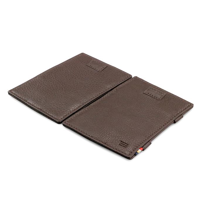 (複製)GARZINI|比利時翻轉皮夾 - 壓紋 - 抽取款 - 黑色