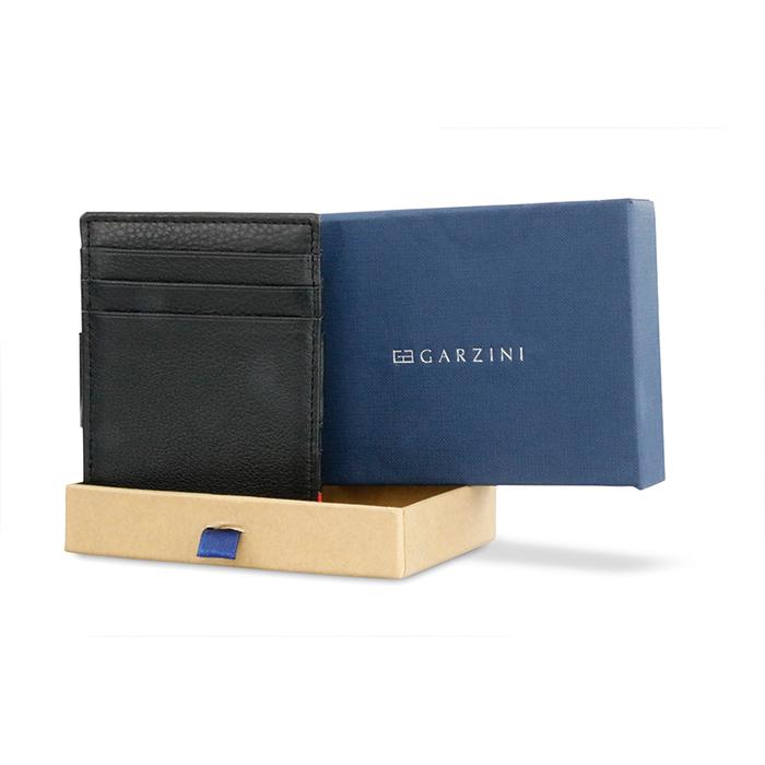 (複製)GARZINI 比利時翻轉皮夾 - 壓紋 - 抽取款 - 深藍色