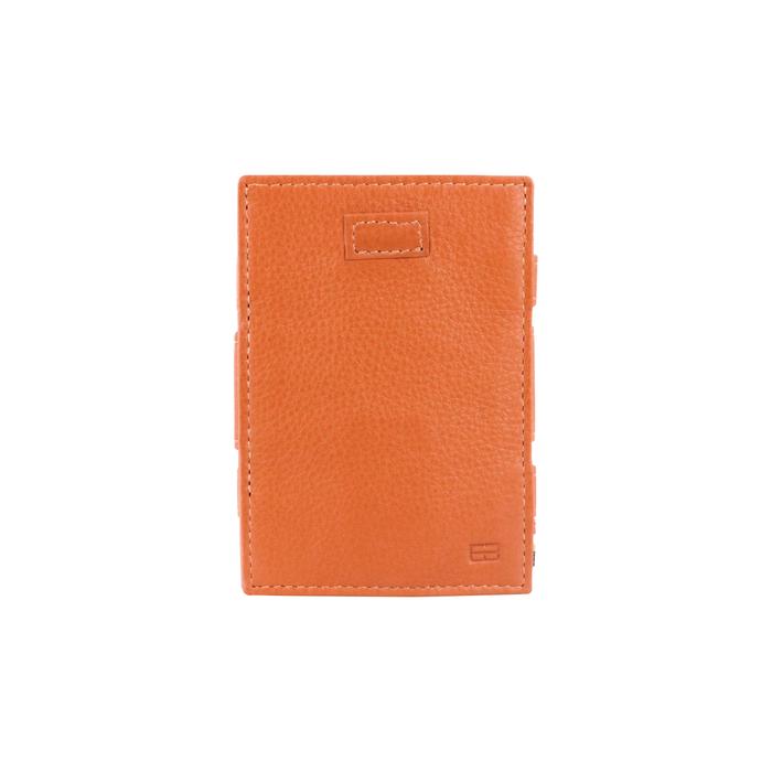 GARZINI|比利時翻轉皮夾 - 抽取零錢袋款 - 亮棕色