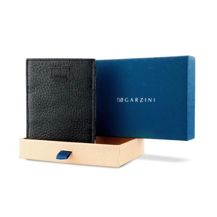 (複製)GARZINI|比利時翻轉皮夾 - 抽取零錢袋款 - 深藍色