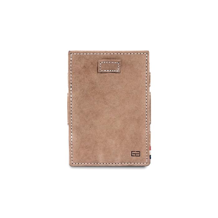 (複製)GARZINI|比利時翻轉皮夾 - 抽取零錢袋款 - 深棕色