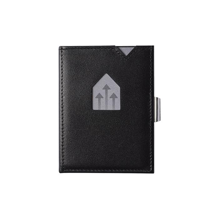 EXENTRI|挪威紳士皮夾 - 零錢袋款 - 黑色