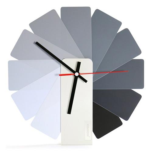Kibardin |百變時鐘 灰色扇葉/白色主體