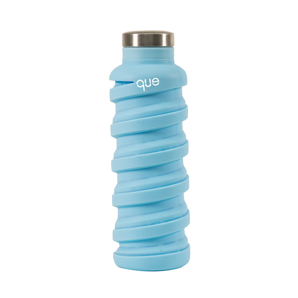 que Bottle|伸縮水瓶(600ml) - 湖水藍