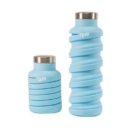 que Bottle|伸縮水瓶(355ml) - 湖水藍