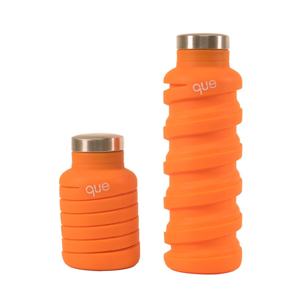 que Bottle|伸縮水瓶(355ml) - 活力橘