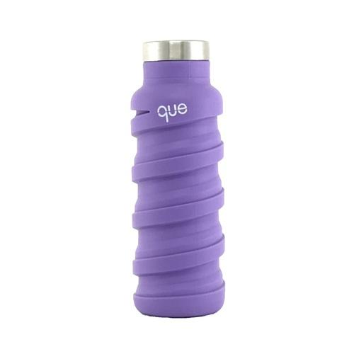 que Bottle 伸縮水瓶(355ml) - 薰衣紫