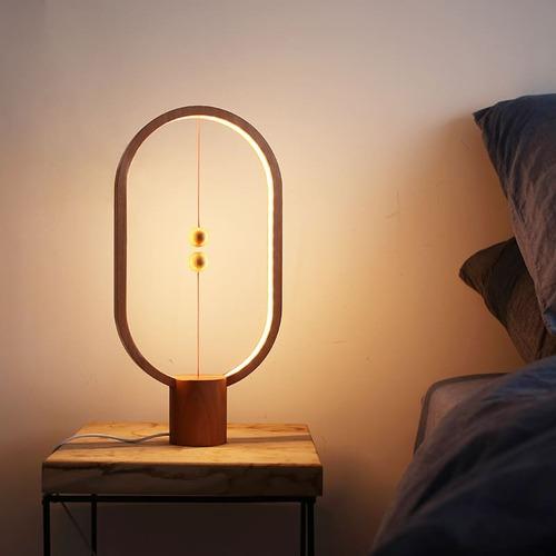 Allocacoc|Heng Balance Lamp 衡 原木燈 - 淺色橢圓形