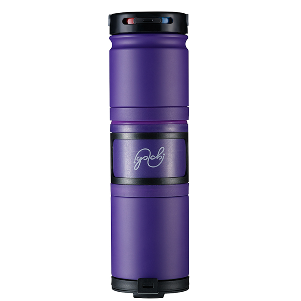 Golchi|多功能 304 不鏽鋼淬煉保溫瓶 - 紫色