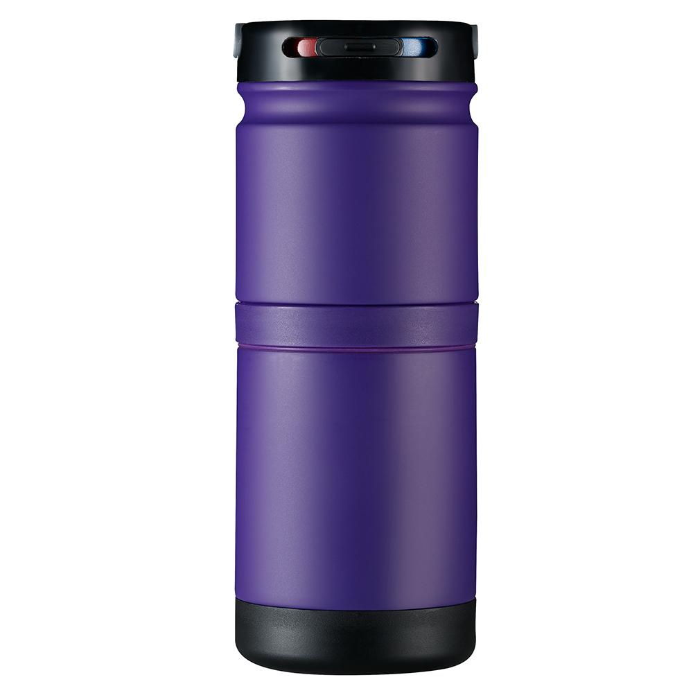 Golchi 多功能 304 不鏽鋼淬煉保溫瓶 - 紫色