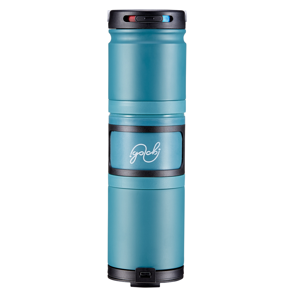 Golchi 多功能 304 不鏽鋼淬煉保溫瓶 - 青色