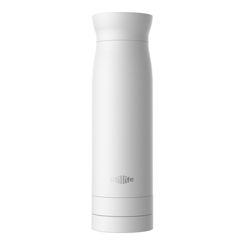 Utillife  輕盈收納304不銹鋼保溫瓶(420ml) - 白色